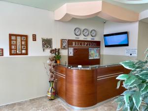 Lobby alebo recepcia v ubytovaní Family Hotel Avenue