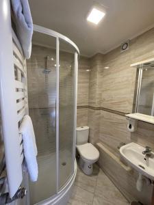 Łazienka w obiekcie Hotelik Gold