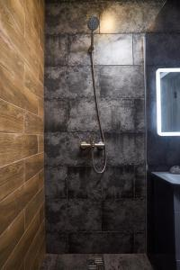 A bathroom at Квартира студия