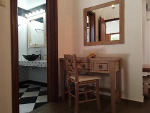 A bathroom at Mistral-Patmos