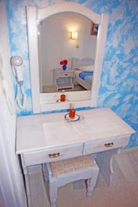 A bathroom at St.George Valsamitis
