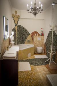A bathroom at Hotel Bojnický Vínny Dom