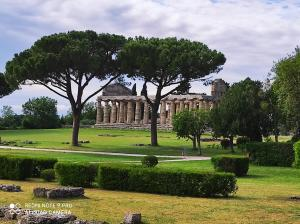 A garden outside B&B Villa Di Bartolomeo