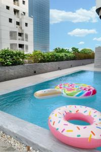 The swimming pool at or near The Cotton Saladaeng Hotel