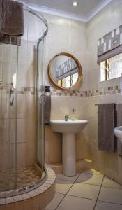 A bathroom at African Spirit Game Lodge