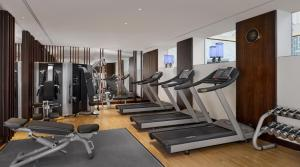 The fitness center and/or fitness facilities at The Ritz-Carlton, Budapest