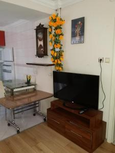 A television and/or entertainment center at Camlik Apart Hotel