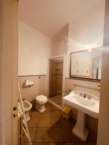 A bathroom at Aparthotel Palazzo PANTALEO