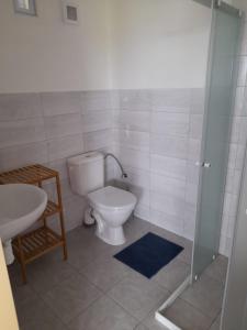 Koupelna v ubytování Ubytování Frahelž