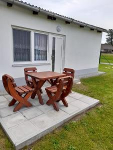 Patio nebo venkovní prostory v ubytování Ubytování Frahelž