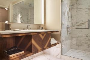 A bathroom at Park Hyatt Toronto