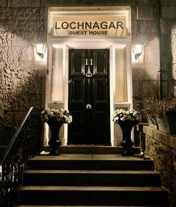 The facade or entrance of Lochnagar Guest House