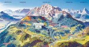 Blick auf Alpenresidenz Buchenhöhe aus der Vogelperspektive