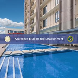 The swimming pool at or near Citadines Bay City Manila - Multiple Use Hotel