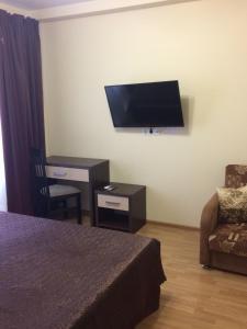 Телевизор и/или развлекательный центр в Апартаменты в Олимпийском Парке