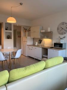Kuchyň nebo kuchyňský kout v ubytování Apartment Petra