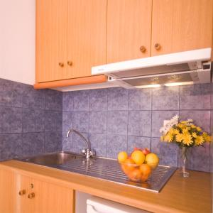 A kitchen or kitchenette at Pension St.George Rooms & Studios