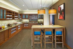 A restaurant or other place to eat at Residence Inn Milwaukee Downtown