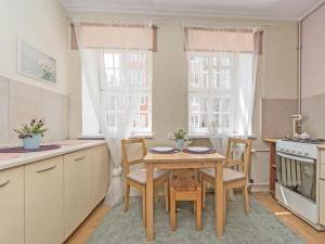 Kuchnia lub aneks kuchenny w obiekcie Apartament Kameralny 17