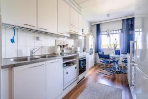 Majoituspaikan Capitano keittiö tai keittotila