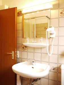 A bathroom at Brunnenhof