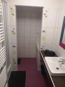 Kúpeľňa v ubytovaní Apartmán Tobias, Vysoké Tatry