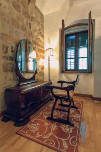 A seating area at Palazzo Drusko Deluxe Rooms