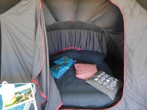 Letto o letti a castello in una camera di Capalbio Campeggio Rurale