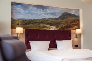 Gulta vai gultas numurā naktsmītnē Lielupe Hotel SPA & Conferences by Semarah
