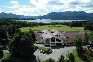 A bird's-eye view of Castlerosse Park Resort Holiday Homes