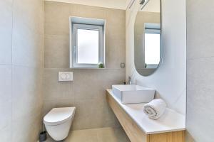 Koupelna v ubytování Apartmani Ana