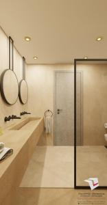 A bathroom at Anaxo Resort