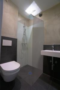 A bathroom at Das Bergschlösschen