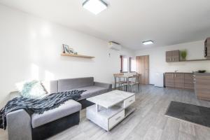 Posezení v ubytování Pohoda Salaš u Velehradu-2 apartmany