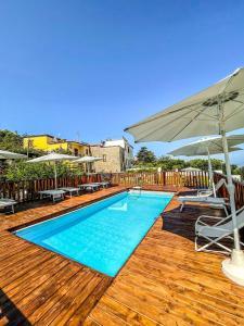 The swimming pool at or close to ANTICA TENUTA CELOTTO