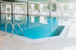 Der Swimmingpool an oder in der Nähe von HEIMATEL - Ferienwohnungen