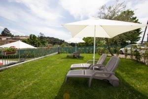 Jardín al aire libre en Villa Le Statue