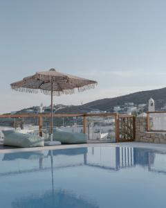 The swimming pool at or near Mykonos Essence Hotel