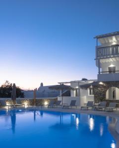 Piscine de l'établissement Mykonos Essence Hotel ou située à proximité