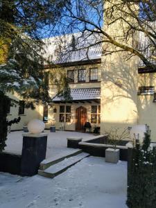 Hotel Lepelbed in de winter