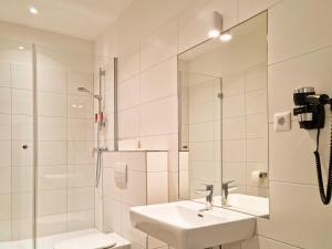 Łazienka w obiekcie Pension Mozart - Newly Renovated 2021