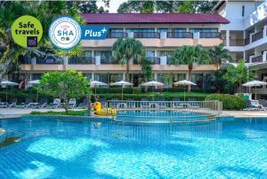 The swimming pool at or near Patong Lodge Hotel - SHA Plus