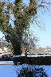 The Manners Arms during the winter
