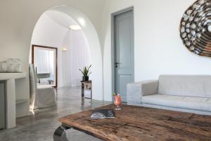 Oleskelutila majoituspaikassa Andronis Luxury Suites