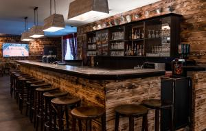 Lounge oder Bar in der Unterkunft Jaeger´s Munich (Hotel/Hostel)