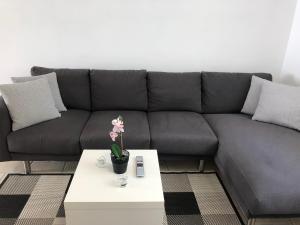 A seating area at Steinhaus Dalmatien