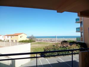 A balcony or terrace at Apartment Horizon Marin