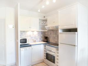 A kitchen or kitchenette at Apartment Horizon Marin