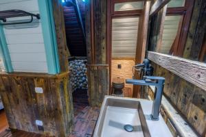 A bathroom at Pousada Alto Da Boa Vista