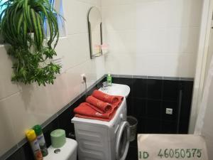 A bathroom at Квартиры в центре Сочи у Елены